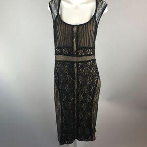 NWT Lane Bryant Black Lace Sheath Dress Size 24